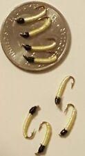 8 Cream/Black UFO Midge SZ 18 Fly Fishing Flies Ugly San Juan Flies Trout