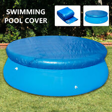 10FT Round Swimming Pool Cover for Garden Outdoor Paddling Family Pools Cover