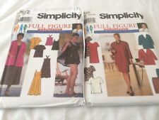 Simplicity Womens Full Figure Patterns