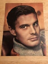 LOUIS JOURDAN  - Vintage 1947 Full Page Clipping - 8x11 Color
