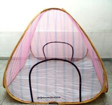 6X 6 ft. SIZED PORTABLE FOLDABLE MOSQUITO NET FOR DOUBLE SIZE BED