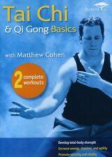 Tai Chi & Qui Gong Basics With Matthew Cohen (2011, DVD NEUF)