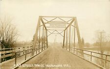 RPPC OR C855 No 29 Steele Bridge Independence ORE Dated 1915 AZO Stamp Box