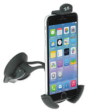 Pulse Black Car Windscreen Smartphone & iPhone 6 & 7 Mobile Phone Holder Stand