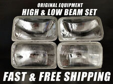 OE Fit Headlight Bulb For GMC V3500 1988-1991 Low & High Beam Set of 4