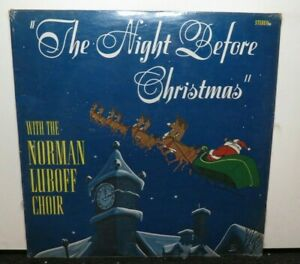 THE NORMAN LUBOFF CHOIR THE NIGHT BEFORE CHRISTMAS (NM) SEALED  VINYL LP RECORD