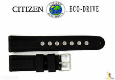 Citizen Eco-Drive BM8475-00X 22mm (LONG) Black Nylon Watch Band S064783