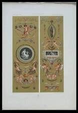 SERRE BIJOUX MARIE ANTOINETTE - LITHOGRAPHIE 1885 - PANNEAUX DEGAULT, PEINTURE
