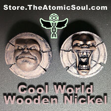 Cool World -- Sparks Wooden Nickel live action animation prop replica coolworld