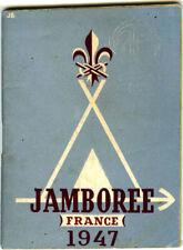 JAMBOREE FRANCE 1947, GUIDE EN LANGUE ANGLAISE DU CAMP, EDITION SCOUT MARIN