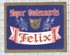 BELGIUM Oudenaarde FELIX SUPER beer label C2010 058