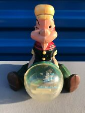 Scarce Vintage King Features Syndicate Popeye The Sailor Water Snow Globe