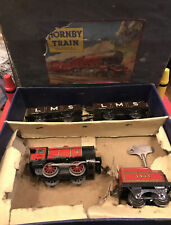 hornby clockwork train set For Repair Or Parts