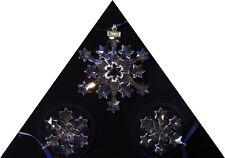 SWAROVSKI SILVER CRYSTAL  2004 3 STAR SET ANNUAL EDITION 682961 MINT IN BOX