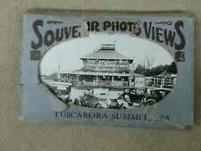 ANTIQUE 1930'S ERA TUSCARORA SUMMIT, PA. SOUVENIR PHOTO VIEWS! COMPLETE SET!