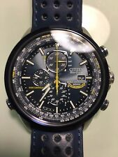 Citizen Watch Blue Angels World Chronograph A-T Eco-Drive AT8020-03L -  $595 USD