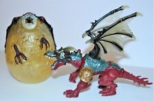 Chap Mei Medieval Dragon Egg Head Lightup BuildUp Your Dragon Rare Collectable