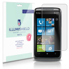 iLLumiShield Matte Screen Protector w Anti-Glare/Print 3x for HTC 7 Surround