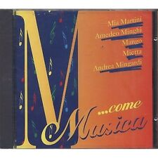 MIA MARTINI AMEDEO MINGHI MANGO MIETTA ANDREA MINGARDI - CD 1996 SEALED