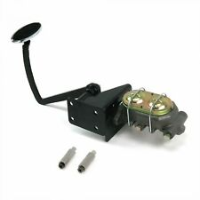 28-31 Ford Manual Brake Pedal kit Disk/DrumLg Oval Chr Pad street cylinder