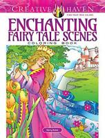 Creative Haven Enchanting Fairy Tale Scenes Coloring Book (Adult Coloring) by No