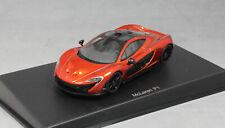 Autoart McLaren P1 in Volcano Orange 2013 56012 1/43 NEW
