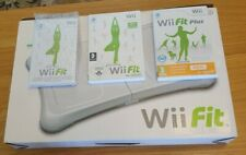 Wii Fit, Wii Fit Plus Games With Manuals And Balance Board in Original box  VGC