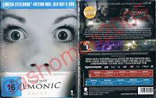 Blu-Ray+DVD DEMONIC Maria Bello Frank Grillo Megan Park Steelbook Region B/2 NEW