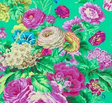 FLORAL DELIGHT by Philip Jacobs~ Kaffe Fassett~ Large Floral ~Fabric~ per 1 yard