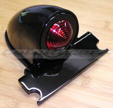 Black Sparto Tail Light Brake Light Chopper Cafe Racer Bobber Custom Hot Rod