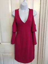 French Connection Cerise/Magenta Dress Size 10 BNWT