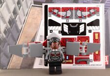 Lego Mini Figure Super Heroes Marvel Falcon with Sticker Sheet from Set 76104