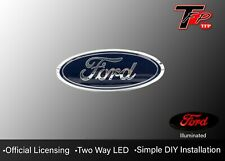"2004 - 2014 Ford F-150 9"" LED Tailgate Logo Emblem - Chrome"