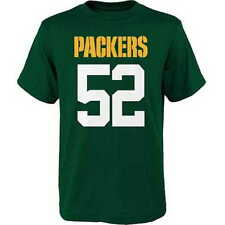 Green Bay Packers CLAY MATTHEWS nfl Jersey Tee T-Shirt YOUTH KIDS BOYS s-small