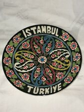 Collectible Souvenir Plate Istanbul Turkey Turkiye Used