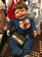 "Ashton Drake Collectible Life-Like Baby Doll  "" I'm a Little Devil "" Retired"