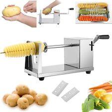 Chips Slicer Twister Kartoffel Spiral Schneider Langlebig Edelstahl Kleingeräte