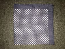 J. Crew STAR PRINT Italian Linen Pocket Square/Handkerchief