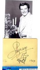 More details for liberace vintage signed page aftal#145