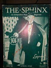 Vintage Laurant Issue 1940 Sphinx Magazine Vol Xxxix No 2