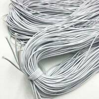 20 Yard Top Quality Round 3mm Elastic Band Stretch Rope Cord DIY Crafts Sewing .