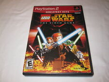 LEGO Star Wars: The Video Game (Playstation PS2) GH Game Complete Nr Mint!