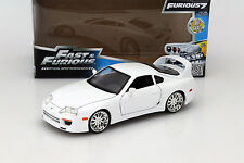 Brian ´s Toyota Supra from the Film FAST AND FURIOUS 7 2015 White 1:24 Jada Toys