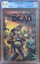 The Walking Dead Deluxe #1 Black Foil CGC 9.9 Mint