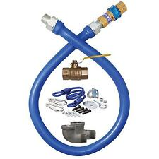 "Dormont 48"" Deluxe 3/4"" Gas Hose Connector Kit w/ Quick Disconnect - 1675KIT48"
