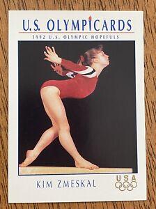 1991 Impel Marketing US Olympicards KIM ZMESKAL #50 Olympic Gymnast