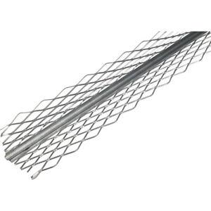 Aluminium Plaster Angle /  Angle Render Bead 50 x 50 mm / 2.5m Pack of 20