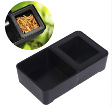 REPTILE GECKO VIVARIUM MEALWORM AND WATER DOUBLE FEEDING DISH FOOD DISH BOWL