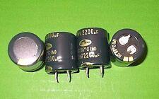Capacitor 2200 uF 50V 50 Volt Snap In Electrolytic Aluminium PCB x 1pc ONO HC1H