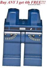 ☀️NEW Lego Legs Pants MINIFIGURE MINIFIG BOY GIRL Dark BLUE Pocket Star Wars